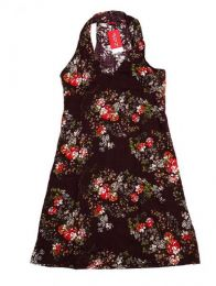 Vestido com estampa floral VECT05 para comprar no atacado ou detalhes na categoria Alternative Ethnic Hippie Outlet | Loja ZAS Hippie.