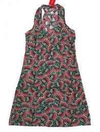 Vestido hippie con estampado Mod 1817