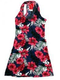 Vestido estampados flores, para comprar al por mayor o detalle  en la categoría de Calzado Hippie para Hombre y Mujer | ZAS Tienda Hippie.[VECT05]