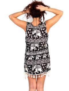 Outlet Ropa Hippie - Vestido estampado étnico VEET01.