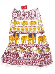 Vestido estampado étnico Mod 1711