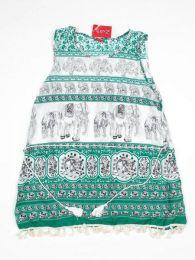 Vestido estampado étnico Mod 177