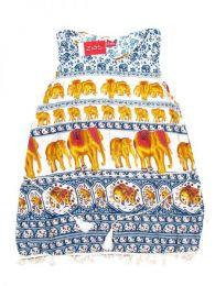 Vestido estampado étnico Mod 1710