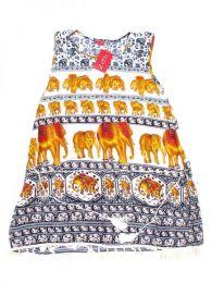 Vestido estampado étnico Mod 1712