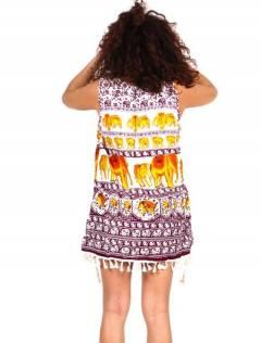 Outlet Ropa Hippie - Vestido estampado étnico VEET02.