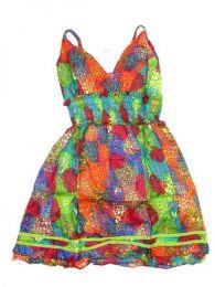 Vestido corto de algodón Mod 173