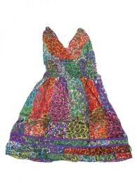 Vestido corto de algodón Mod 172
