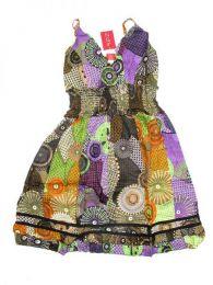 Vestido corto de algodón Mod 174