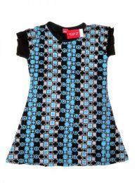 Vestido de rayon estampado VEEV10 para compra no atacado ou detalhes na categoria Outlet Alternative Ethnic Hippie | Loja ZAS Hippie.