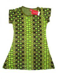 Vestido 100% rayón Mod Verde