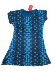 Vestido 100% rayón Mod Azul