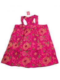 Vestido corto estampado VEEV17 para comprar al por mayor o detalle  en la categoría de Complementos Hippies Alternativos.