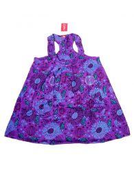 Vestido corto estampado VEEV17 para comprar al por mayor o detalle  en la categoría de Sandalias Hippies Étnicas.