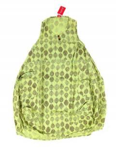 Monos Petos y Vestidos largos - Vestido largo estampado VEEV20 - Modelo Verde