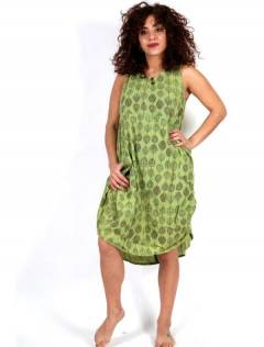 Long printed dress, to buy wholesale or detail in the category of Women's Hippie Clothing | ZAS Alternative Store. [VEEV20]