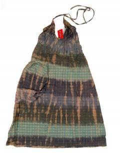 Monos Petos y Vestidos largos - Vestido de algodón VEEV21 - Modelo Marrón