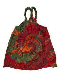 Vestido hippie Tie Dye tirantes VEJU01 para comprar al por mayor o detalle  en la categoría de Sandalias Hippies Étnicas.