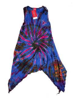 Vestido hippie Tie Dye asimétrico VEJU04 para comprar al por mayor o detalle  en la categoría de Complementos Hippies Alternativos.