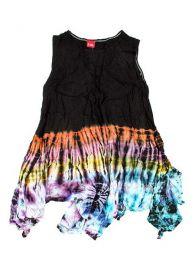 Vestido hippie Tie Dye de Mod Multi bl