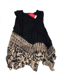 Vestido hippie Tie Dye de Mod Negro17
