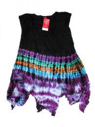 Vestido hippie Tie Dye de Mod Morado17