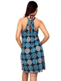 Vestido hippie con estampado detalle del producto