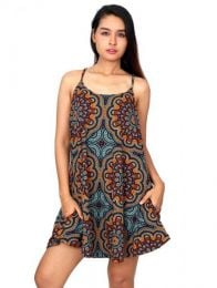 Hippie Clothing Outlet - Mandala printed hippie dress [VESN05] to buy wholesale or detail in the Alternative Ethnic Hippie Outlet category.