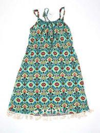 Vestido hippie flecos, para comprar al por mayor o detalle  en la categoría de Bisutería y Plata Hippie Étnica Alternativa | ZAS Tienda Online.[VESN13]