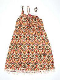 Vestido hippie suelto estampado Mod 184