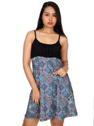 Vestido hippie estampado mandalas VESN20 para comprar al por mayor o detalle  en la categoría de Ropa Hippie de Mujer | ZAS Tienda Alternativa.