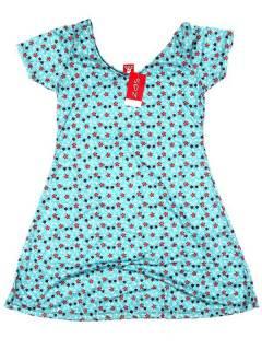 Hippie-Kleid mit Blumendruck, um Großhandel oder Detail in der Kategorie der böhmischen Hippie-Modeaccessoires | zu kaufen ZAS. [VESN27]