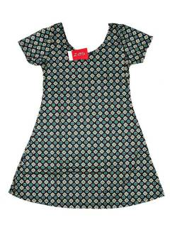 Hippie dress with mandala print VESN29 to buy in bulk or in detail in the Alternative Ethnic Hippie Costume category.