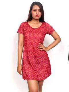 Hippie dress with mandala print [VESN30]. Ethnic Hippie Dresses to buy in bulk or detail in the category of Alternative Hippie Clothing for Women.