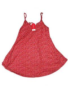 Hippie dress with flower print VESN32 to buy in bulk or in detail in the Alternative Ethnic Hippie Outlet category.