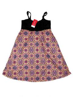 Hippie dress with mandala print VESN34 to buy in bulk or in detail in the Alternative Ethnic Hippie Outlet category.
