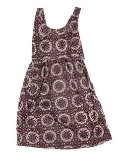 Vestido de tirantes con estampado de mandalas VESN35 para comprar al por mayor o detalle  en la categoría de Sandalias Hippies Étnicas.
