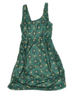 Strapless dress with mandala print VESN35 to buy in bulk or detail in the Handicrafts category.