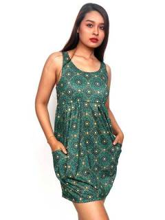 Ethnic Hippie Dresses - Strappy dress with mandala print [VESN35] to buy in bulk or in detail in the category of Alternative Hippie Clothing for Women.