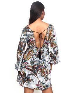 Vestidos Hippie Etnicos - Vestido hippie suelto con VESN37.