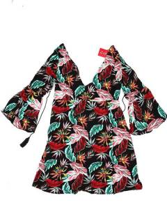 Rayon dress with flower prints VESN39 to buy in bulk or in detail in the Handicrafts category.