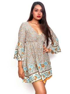 Ethnic Hippie Dresses - Loose hippie dress with VESN40.