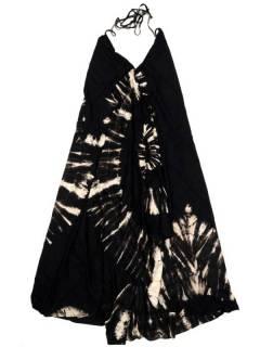 Monos y Petos / Vestidos largos - Vestido largo Tie dye muy VETO01 - Modelo Negro