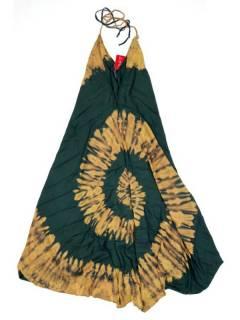 Monos y Petos / Vestidos largos - Vestido largo Tie dye muy VETO01 - Modelo Verde