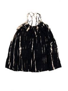 Vestidos Hippie Boho Alternativos - Vestido hippie corto suelto VETO02 - Modelo Negro