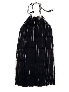 Monos Petos y Vestidos largos - Vestido largo Tie dye muy VETO03 - Modelo Negro