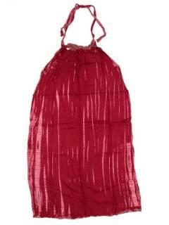Monos Petos y Vestidos largos - Vestido largo Tie dye muy VETO03 - Modelo Rojo