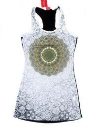 Vestido de tirantes lis con detalle del producto