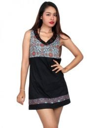 Hippie Clothing Outlet - Ethnic patterned dress [VEUN74] to buy in bulk or in detail in the Alternative Ethnic Hippie Outlet category.