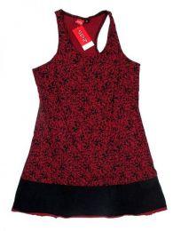 Vestido detalles estampados Mod Rojo