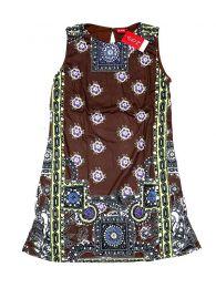 Outlet Ropa Hippie - Vestido estampados étnicos VEUN97.